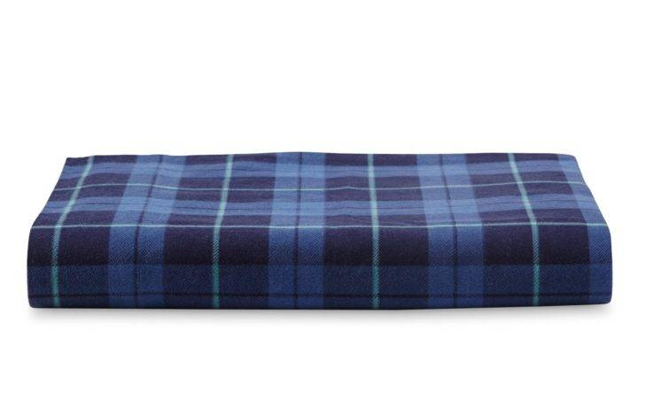 Flannel Sheet Set Plaid Home Bed Bath Bedding Sheets