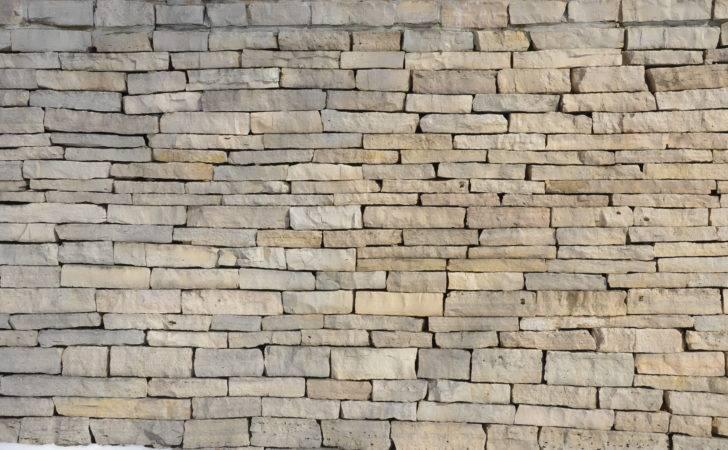 Flat Faced Stone Wall Edina Minnesota