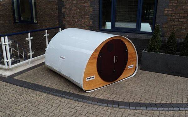 Flat Pack Outdoor Double Pod Podtime Homecrux