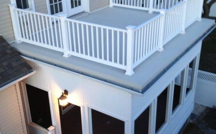 Flat Roof Sunroom Ideas Google Search Deck Pinterest