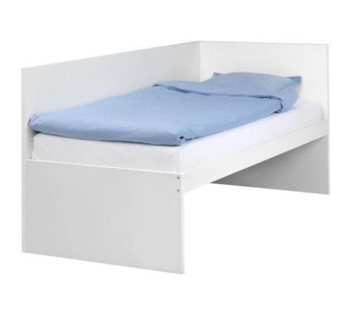 Flaxa Bed Frame Headboard Ikea Space Under Can