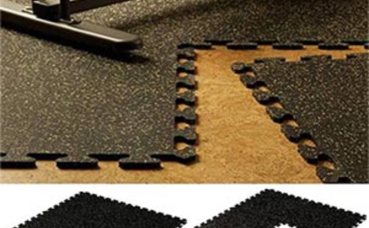 Flex Interlocking Rubber Floor Tiles New Mats