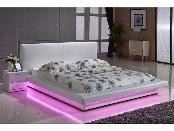 Flexible Led Decoration Strip Light Contemporary Platform Bed