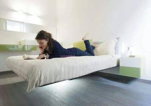 Floating Bed Daniele Lago Quartos Pinterest