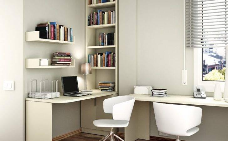 Floating Corner Desk Optimally Fill Every Room