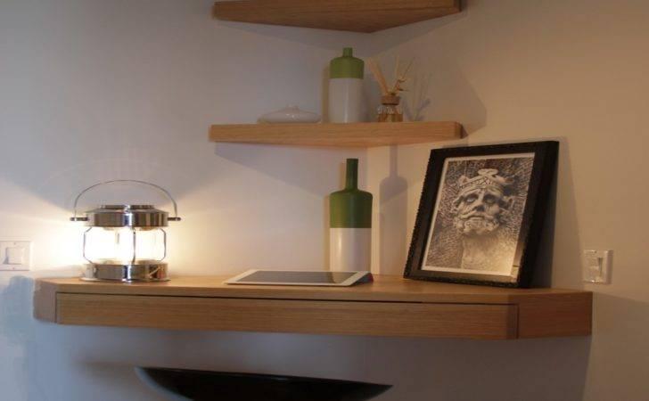 Floating Corner Shelf Drawers Wall Ikea