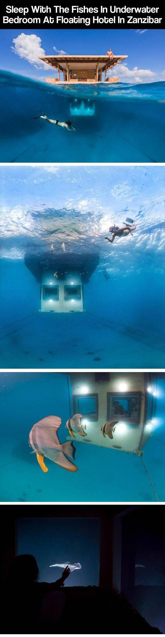 Floating Hotel Zanzibar Places Spaces Pinterest