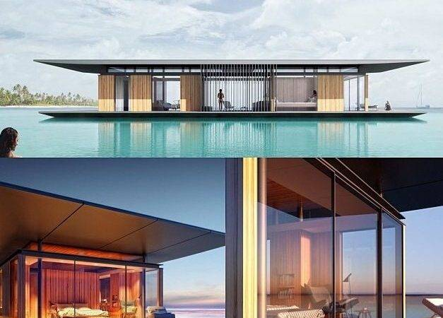 Floating House Designed Singapore Based Architect Dymitr Malcew