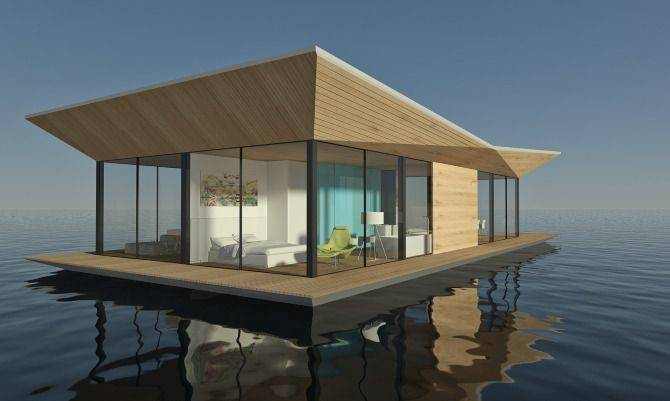 Floating House Dymitr Malcew Architect Designer Based
