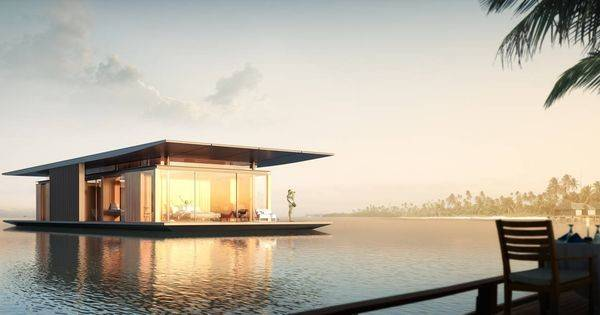 Floating House Dymitr Malcew Random Pinterest