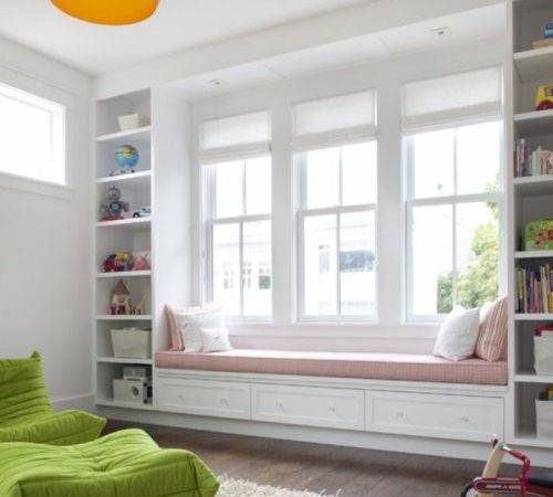Floating Window Seat Bookcase Bydesign Kitchens Bedrooms