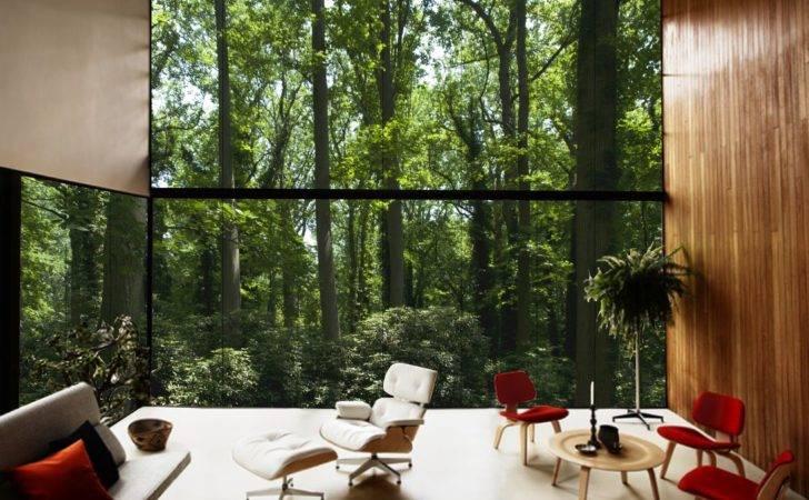 Floor Ceiling Windows Presenting Beautiful Outside Views Traba