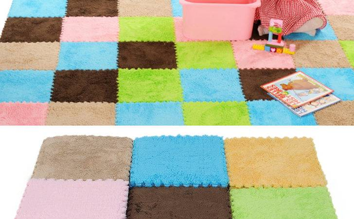 Floor Covering Eva Foam Puzzle Mats Tile Play Mat Gym Baby Kids