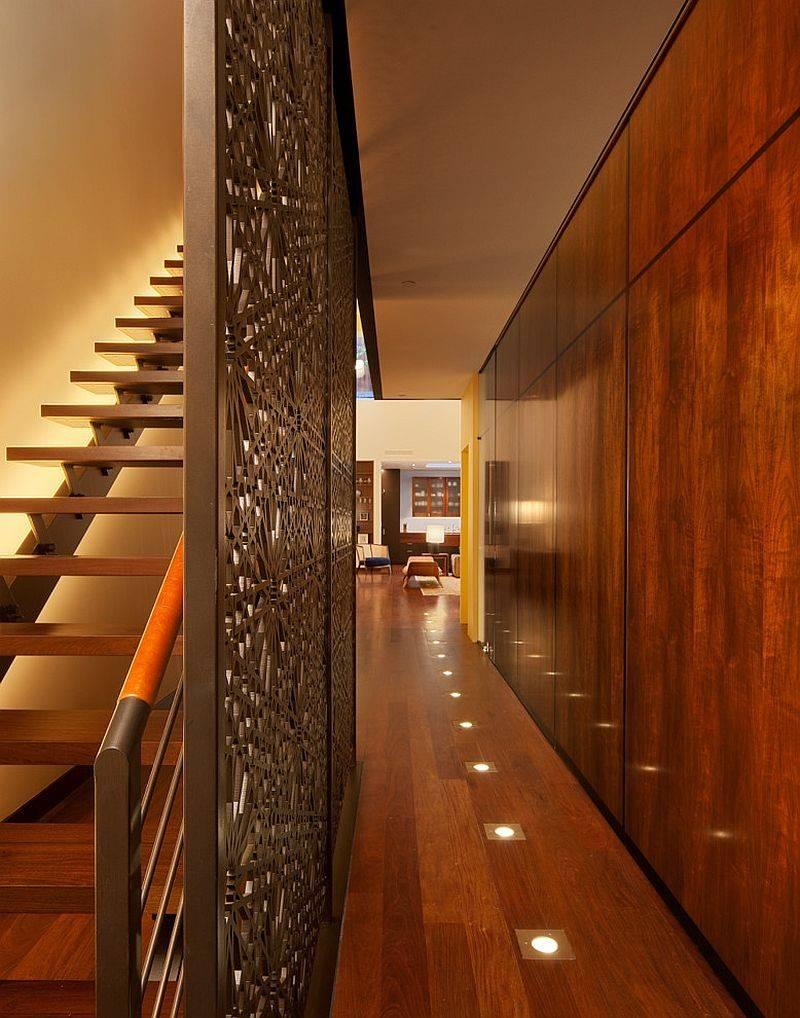 Floor Lighting Hall Provides Perfect Ambient Illumination