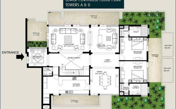 Floor Plans Emaar Mgf Palm Springs Apartments Penthouses