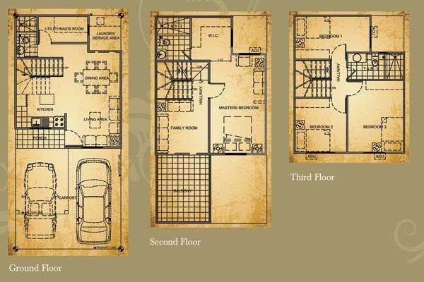 Floor Plans Philippines House Home Designs Plan