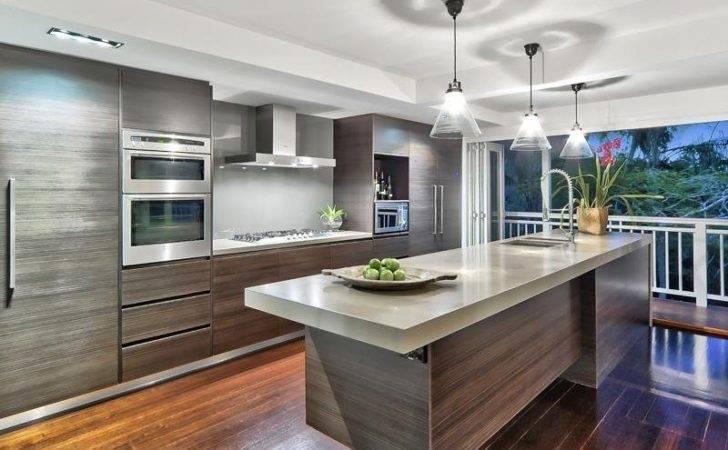 Floorboards Kitchen Design Australian Home