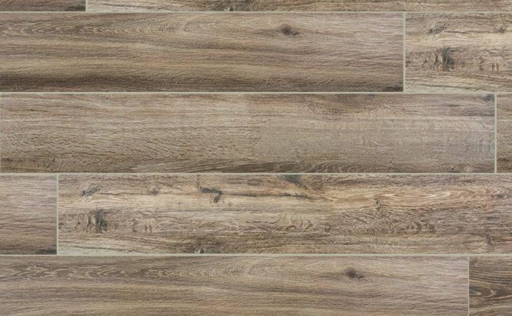 Flooring Wood Plank Porcelain Marrone Tile