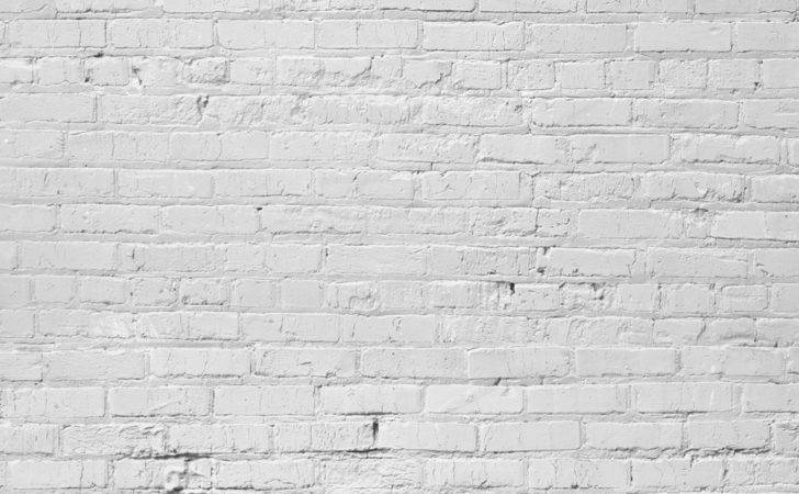 Floors Backdrops White Brick Wall Painted