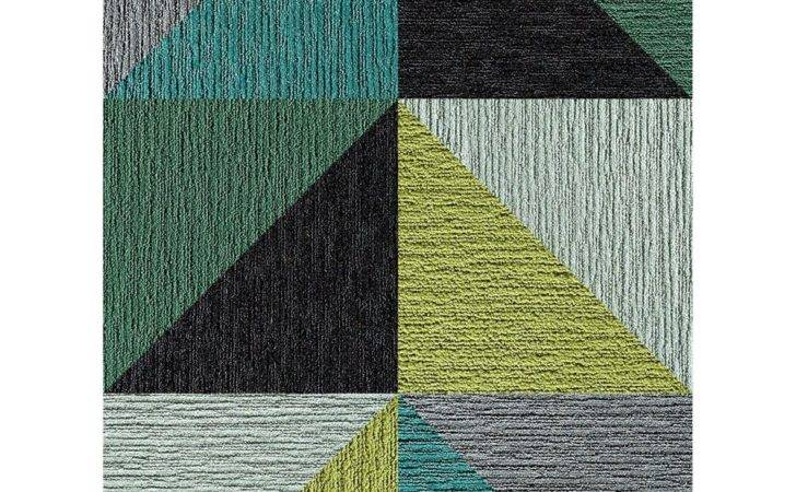 Flor Emerald Made Look Triangle Patchwork Rug Square Set Zulily