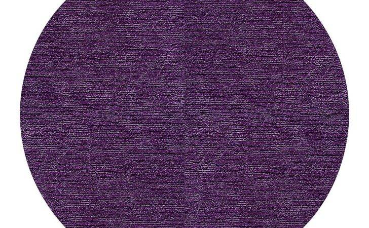 Flor Purple Made Look Round Rug Set Zulily