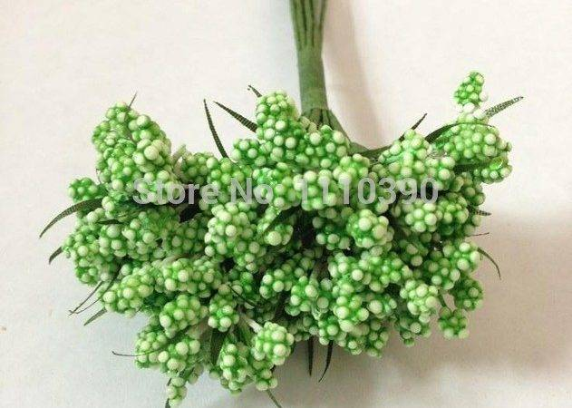 Floral Foam Berries Bouquets Fake Fruits Dried Lavender Flower