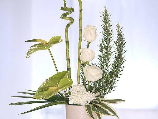 Flower Arrangement Pure Container