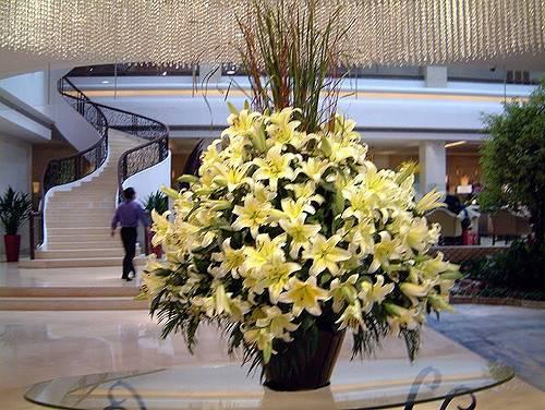 Flowers Hotel Lobby Shangri Shenzhen China Flickr