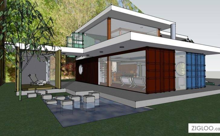 Flw Container House Zigloo Custom Home Design
