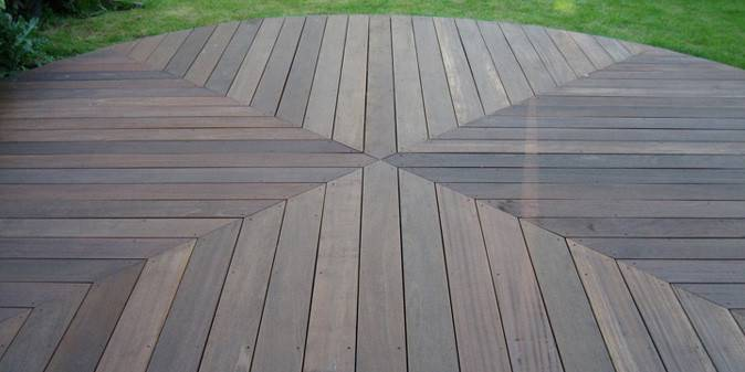 Focal Point Decking Diamond Pattern Boards