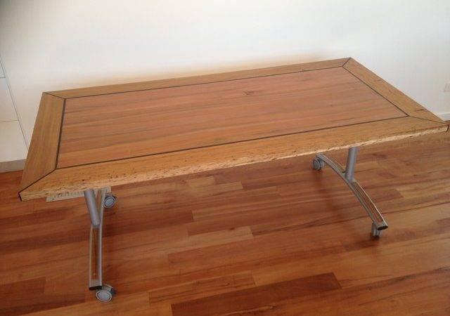 Fold Away Blackwood Dining Table