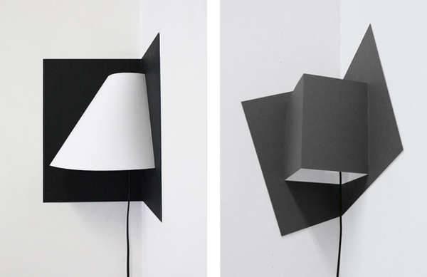 Foldable Avante Garde Lighting Pop Corner Light