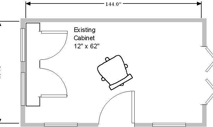 Folding Doors Plan Sliding Drawing