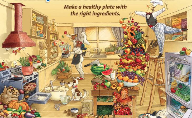 Food Health Proud Present Our New Healthy Kitchen Poster