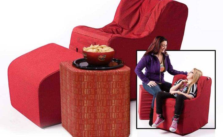 Foot Rest Table Chair