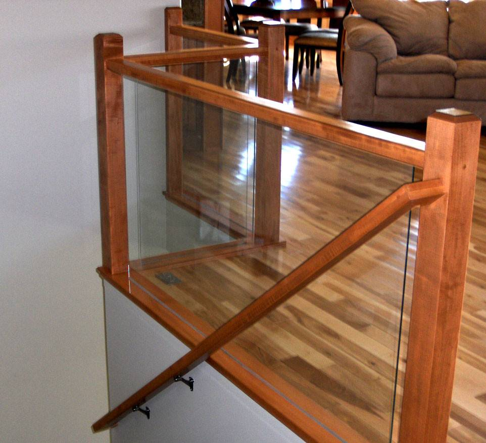 Ford Metro Glass Deck Railing Interior Hand Rails