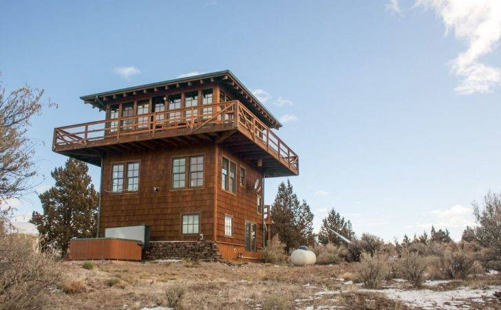 Forest Fire Lookout Tower House Small Bliss