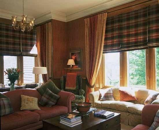 Formal Living Room Designs Tartan Brings Light