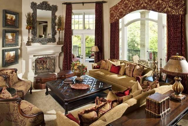 Formal Living Room Mediterranean Dallas Wesley