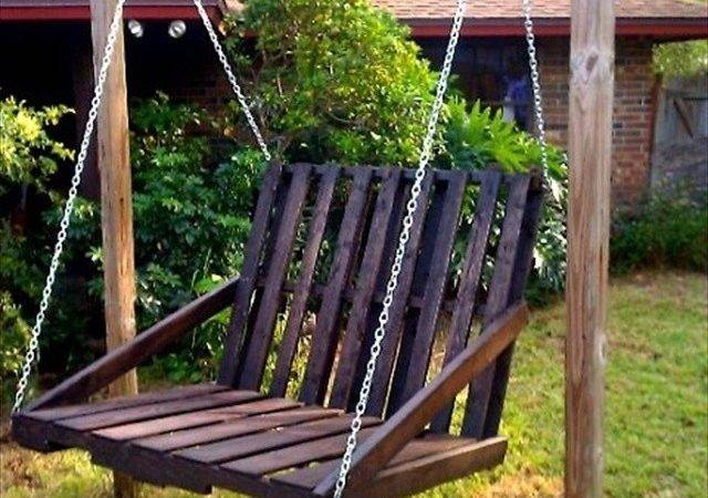 Fotos Diy Pallet Swing Plans Chair Bed Bench