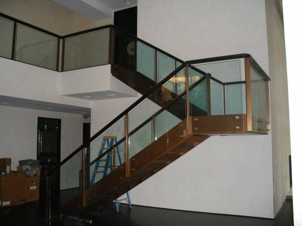Fotos Stairs Glass Railings