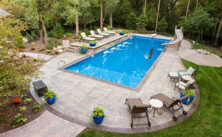 Four Options Create One Kind Decorative Concrete Pool Deck