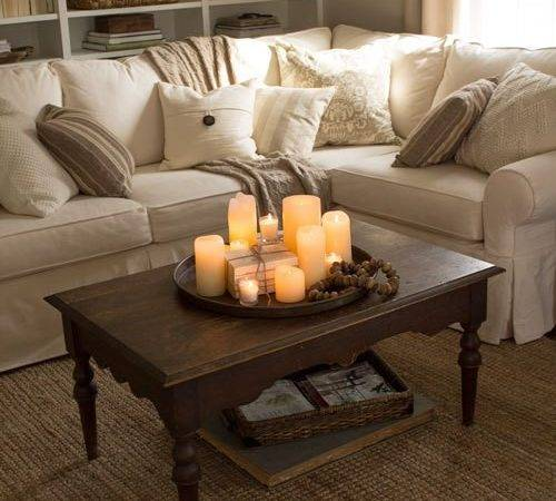 Four Simple Ways Style Your Coffee Table