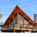 Frame Chalet House Plans Log Home