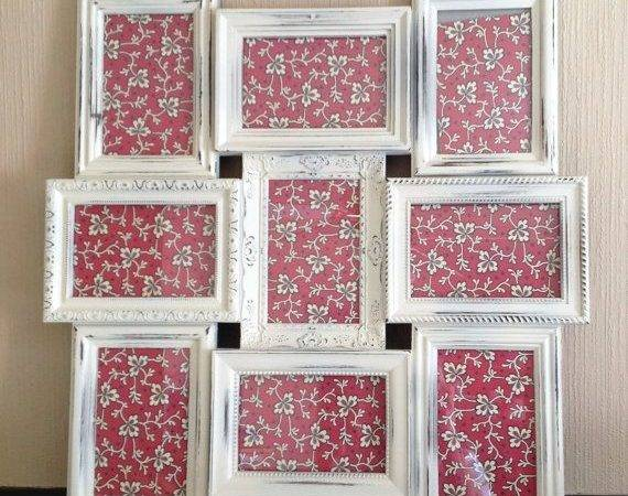 Frame Collage Country French White Shabby Chic Wall Pictu