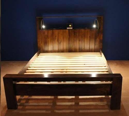 Frame Headboard Pallet Beds Wood Bed Frames Make