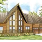 Frame House Plans Boulder Creek Associated
