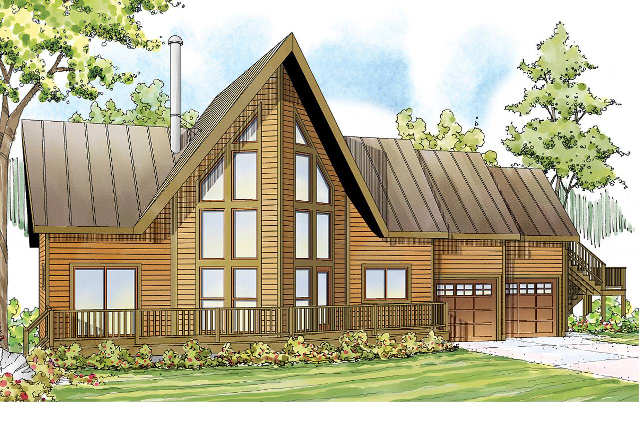 Frame House Plans Boulder Creek Associated
