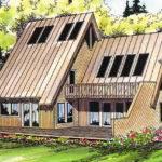 Frame House Plans Cascade Associated Designs