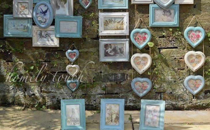 Frame Multi Collage Frames Shabby Chic Heart Ebay